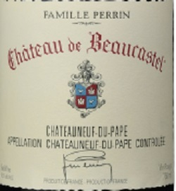 博卡斯特尔酒庄教皇新堡红葡萄酒(Chateau de Beaucastel,Chateauneuf-Du-Pape,France)
