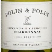 波林兄弟罪犯与天主教霞多丽白葡萄酒(Polin&Polin Convicts&Catholics Chardonnay,Hunter Valley,...)