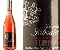 小嘉伯乐歌海娜桃红葡萄酒(Le Petit Jaboulet Grenache Rose,Vin de Pays,France)