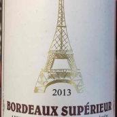 铁塔之源酒庄干红葡萄酒(La Dame De Fer,Bordeaux Superieur,France)