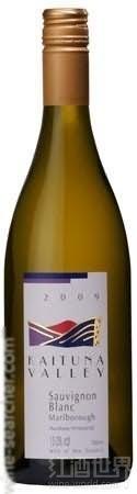 凯图纳酒庄长相思干白葡萄酒(Kaituna Valley Sauvignon Blanc,Marlborough,New Zealand)