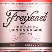 菲斯奈特桃红绶带极干型起泡酒(Freixenet Cordon Rosado Brut,Cava,Spain)