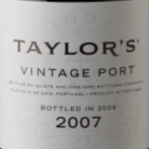 泰勒年份波特酒(Taylor's Vintage Port,Douro,Portugal)