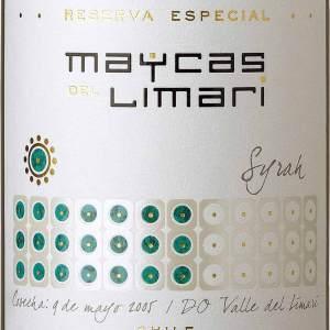 麦卡斯特选珍藏西拉红葡萄酒(Maycas del Limari Reserva Especial  Syrah, Limari Valley, Chile)