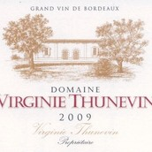 维珍妮·桑内文酒庄干红葡萄酒(Domaine Virginie Thunevin,Bordeaux,France)