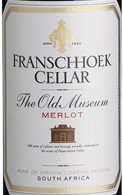 弗朗斯胡科老博物馆梅洛干红葡萄酒(Franschhoek Cellar The Old Museum Merlot,Franschhoek Valley,...)