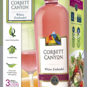 科柏谷仙粉黛桃红葡萄酒(Corbett Canyon White Zinfandel,California,USA)