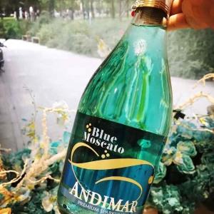 安德玛莫斯卡托蓝起泡酒(Andimar Moscato Blue,USA)