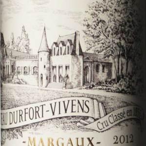 杜霍酒庄红葡萄酒(Chateau Durfort-Vivens,Margaux,France)