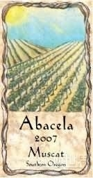 阿坝塞拉麝香干白葡萄酒(Abacela Muscat,Southern Oregon,USA)