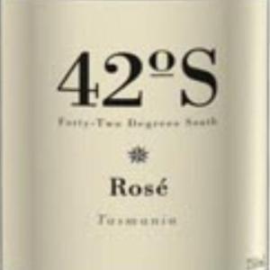 蛙溪南纬42度桃红葡萄酒(Frogmore Creek 42 Degrees South Rose,Tasmania,Australia)