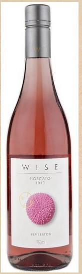智者海胆莫斯卡托桃红葡萄酒(Wise Wines Sea Urchin Moscato,Margaret River,Australia)