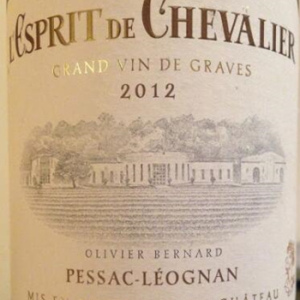 骑士精神干红葡萄酒(L'Espirit de Chevalier, Pessac-Leognan, France)