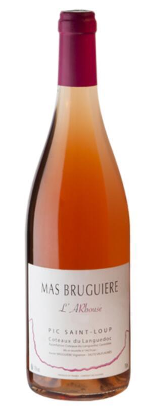 布奎耶酒庄桃红葡萄酒(Mas Bruguiere Le Rose,Languedoc-Roussillon,France)