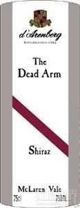 黛伦堡枯藤西拉干红葡萄酒(d'Arenberg The Dead Arm Shiraz, McLaren Vale, Australia)