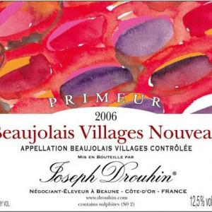 """约瑟夫杜鲁安村庄级""""罗曼""""博若莱新酒(Joseph Drouhin Beaujolais-Villages Nouveau Romane,Beaujolais...)"""