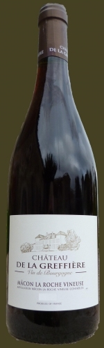 格里菲酒庄马贡岩干红葡萄酒(Chateau de La Greffiere Macon La Roche Vineuse Rouge,...)