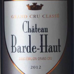 巴德酒庄红葡萄酒(Chateau Barde-Haut,Saint-Emilion Grand Cru Classe,France)