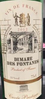 Dimare des Fontanes Cuvée Prestige,France