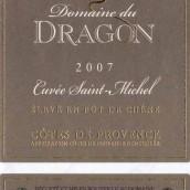Domaine du Dragon Cotes de Provence Cuvee Saint Michel Rouge...