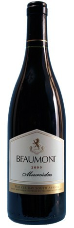 鲍蒙特慕合怀特干红葡萄酒(Beaumont Mourvedre,Walker Bay,South Africa)