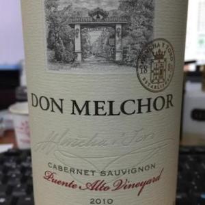 干露魔爵赤霞珠干红葡萄酒(Concha y Toro Don Melchor Cabernet Sauvignon, Puente Alto, Chile)