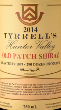 天瑞圣地古园西拉干红葡萄酒(Tyrrell's Wines Sacred Sites Old Patch Shiraz,Hunter Valley,...)