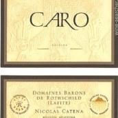 凯洛酒庄卡洛干红葡萄酒(Bodegas Caro Caro,Mendoza,Argentina)