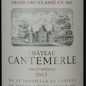 佳得美酒庄红葡萄酒(Chateau Cantemerle, Haut-Medoc, France)