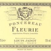路易亚都庞赛罗弗勒里红葡萄酒(Louis Jadot Poncereau Fleurie,Beaujolais,France)