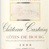 卡斯丹酒庄红葡萄酒(Chateau Castaing,Cotes de Bourg,France)