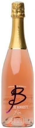 邦豪斯特桃红起泡酒(Chateau de Bonhoste Cremant de Bordeaux 'B de Bonhoste' Rose...)