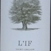 紫杉酒庄红葡萄酒(L'if,Saint Emilion,France)