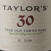 泰勒30年茶色波特酒(Taylor's 30 Year Old Tawny Port, Douro, Portugal)