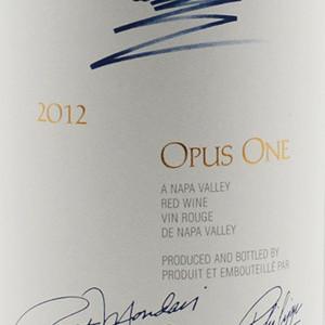 作品一号红葡萄酒(Opus One,Napa Valley,USA)
