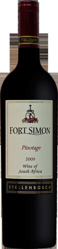 西蒙堡皮诺塔吉干红葡萄酒(Fort Simon Pinotage,Stellenbosch,South Africa)