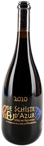 比耶夫酒庄大地与天空红葡萄酒(Les Vignerons de Pierrefeu De Schiste et d'Azur,Cotes de ...)