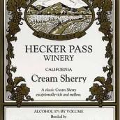 赫克帕斯奶油雪利风格加强酒(Hecker Pass Cream Sherry,California,USA)