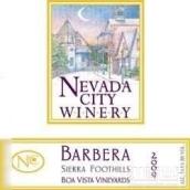 内华达维斯塔庄园巴贝拉干红葡萄酒(Nevada City Winery Boa Vista Vineyards Barbera,Sierra ...)