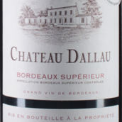 达洛城堡红葡萄酒(Chateau Dallau, Bordeaux, France)