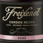 菲斯奈特黑绶带桃红起泡酒(Freixenet Cordon Negro Rose,Cava,Spain)
