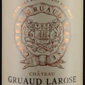 金玫瑰城堡红葡萄酒(Chateau Gruaud Larose,Saint-Julien,France)