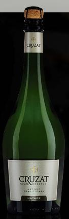 库鲁扎特特酿珍藏系列自然干型起泡酒(Cruzat Cuvee Reserve Nature,Mendoza,Argentina)