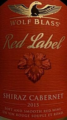 禾富红牌西拉歌海娜干红葡萄酒(Wolf Blass Red Label Shiraz Grenache,South Eastern Australia...)