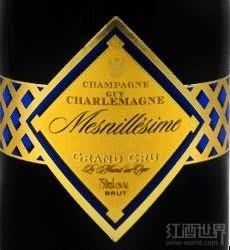 盖伊查理曼特级园极干型年份白中白香槟(Champagne Guy Charlemagne Mesnillesime Blanc de Blancs Grand...)