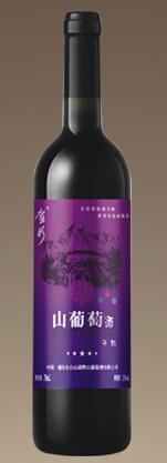 森野酒业紫色心情干红葡萄酒(Senye Winery Purple Mood Red Wine,Changbaishan,China)