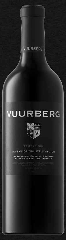 芙尔伯格干红葡萄酒(Vuurberg Red,Western Cape,South Africa)