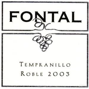 Bodega Fontana Fontal Roble Tempranillo,La Mancha,Spain