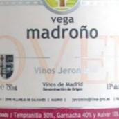 赫罗明马德罗诺系列桃红新酒(Vinos Jeromin Vega Madrono Rosado Joven,Madrid,Spain)