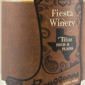 费斯塔瑚珊干白葡萄酒(Fiesta Roussanne,Texas,USA)